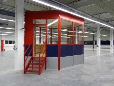 Az irányító irodák, belsőépítészet lehetőségei